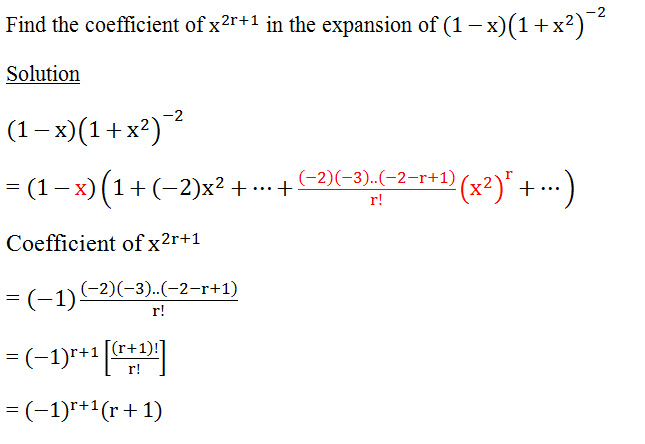Binomial Expansion H2 Maths Tuition Tips