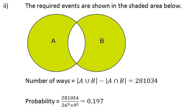venn diagram, inclusion and exclusion principle \u2013 h2 maths tuition Principle of Inclusion Rock Principle Of Inclusion Diagram #20
