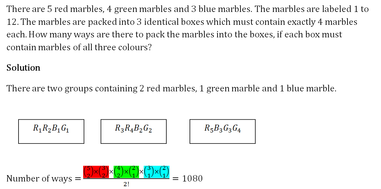 Permutation and Combinations – H2 Maths Tuition & Tips