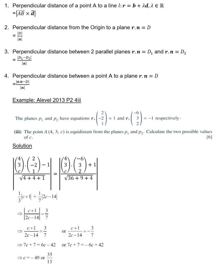 16 Distance formula